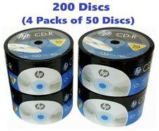 200 HP CD CD-R Logo Branded 52X Blank media disc 700MB