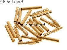 5sets RC Connector 2mm 2.0mm Gold Bullet Connector Plated Male and Female Banana