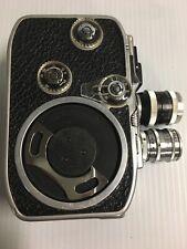 1957 Bolex Paillard B8 B-8VS Movie CAMERA 8mm film 1st intro of Variable Shutter
