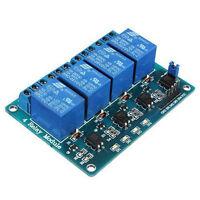 5V 4 Channel Relay Board Module Optocoupler LED for Arduino PiC ARM AVR V3U2