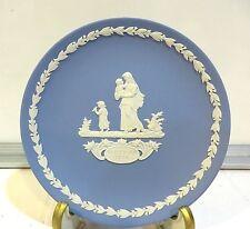 Mothers Plate 1974 - Jasper Blue