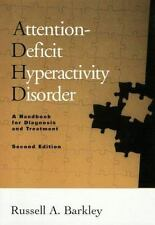 "Attention-Deficit Hyperactivity Disorder Handbook by Russell Barkley ""New HC"""