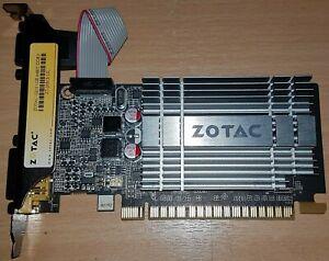 Zotac G210 1GB PCI-E DDR3 Graphics Card HDMI VGA DVI ZT-20313-10L