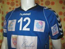 Ancien MAILLOT HUMMEL LISSP CALAIS VOLLEY-BALL Porté #12 DE SMET Ligue Nationale