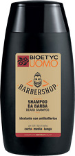 BIOETYC UOMO MEN BARBERSHOP SHAMPOO BARBA IDRATANTE ANTIBATTERICO BEARD 120ML
