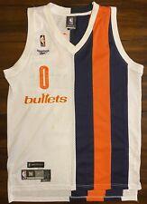 Rare Vintage Reebok HWC NBA Washington Bullets Gilbert Arenas Basketball Jersey