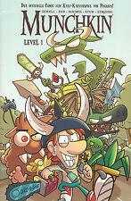 Munchkin: Level 1, Das offizielle Munchkin-Comic, inkl. 4 Promokarten, NEU