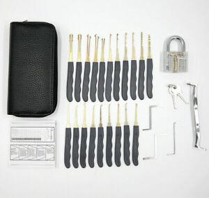 11pcs Unlocking Pick Extractor Padlock Lockpick Tool Kit Quick Open Lock Tools