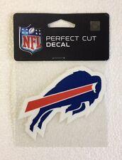 """Buffalo Bills 4"""" x 4"""" Team Logo Truck Car Auto Window Die Cut Decal New Color"""