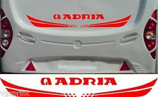 ADRIA CARAVAN/MOTORHOME 2 PIECE KIT DECALS STICKERS CHOICE OF COLOURS & SIZES