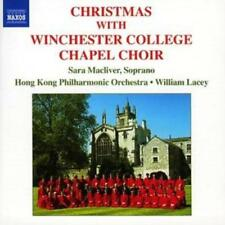 Various Composers : Christmas With the Winchester College Chapel Choir (Lacey)