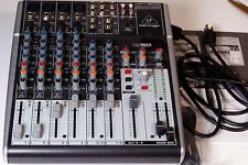 Behringer Xenyx X1204USB Mixer & USB Audio Interface w/ Effects - MINT Condition