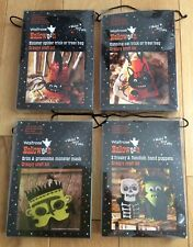 Waitrose Halloween Craft Kit Bundle - Party Activity Gifts: Mask Bags Puppets