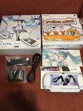 Console Hatsune Miku Limited Edition JAPAN PlayStation Vita Wi‐Fi model rare F/S