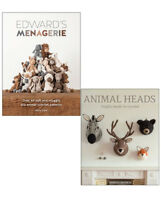Animal Heads Trophy Heads to Crochet Edward's Menagerie 2 books collection PB