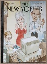 The New Yorker November 11 2013 Barry Blitt cover Obamacare ACA Lou Reed Dr. Who