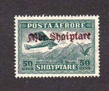 Albania stamp #C25, MHOG, VF - XF, 1929, SCV $125.00