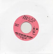 MARY LOU WILLIAMS with LEON THOMAS  YOU KNOW BABY  MARY RECS.   R&B/NORTHERN X/O