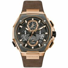 Bulova 98B356 Men's Precisionist X Special Edition Rose Gold Chronograph Watch