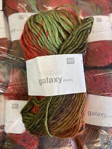 Creative Galaxy Chunky By Rico 10 X 100g Balls In Shade 009