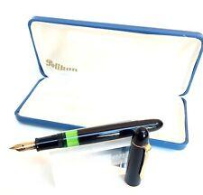 Pelikan 140 black fountain pen vintage excellent boxed