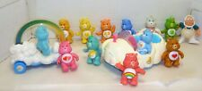 VINTAGE 1980'S MIXED LOT CARE BEARS & VEHICLES