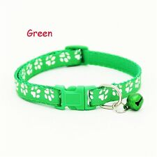 Fascinating Color Collars Puppy Bell Cat With Pet Dog Collar Reflective Green