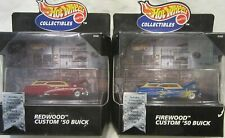 Hot Wheels Collectibles Redwood & Firewood Custom '50 Buick in Display Case!