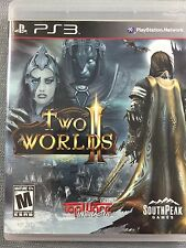 Two Worlds Ps3 Video Game Rated M For Mature Pre-Owned Good Condition w/manual