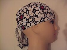 New SKULLS & SUNS Shaped Bandana / Zandana