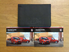 Vauxhall Combo Owners Handbook Manual and Pack 12-18