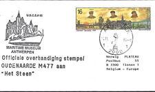 "Bélgica: 2000 M477 ""Het autoestima"" + Sellos"