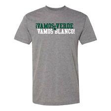 Msu Vamos Verde Vamos Blanco American Apparel Triblend T Shirt