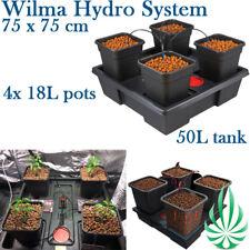 4x18L Wilma Drip Irrigation HydroponicGrow System 75x75 Fit HARVEMAX Grow Tent