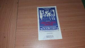 DIRE STRAITS 1985 YUGOSLAVIA CONCERT TICKET STUB