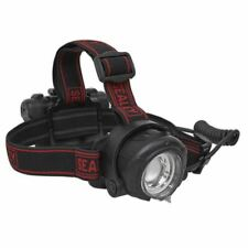 Sealey HT107R Head Torch 5W CREE XPG LED Rechargeable with Adjustable Focus & Br