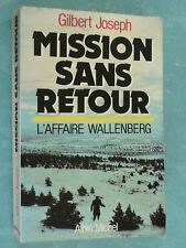 DEPORTATION - MISSION SANS RETOUR -  WALLENBERG