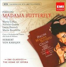 Puccini: Madama Butterfly (2 CD/CD-ROM), Callas, Gedda, Borriello, Daniel, , Exc