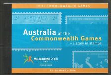 Australia 2006 Sports prestige bklt-Attractive Topical (Sg Sp81) Mnh