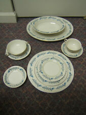 "Theodore Haviland ""Clinton"" Service for 6 Plus Extras Made In USA 60 Pieces"