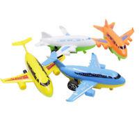 2Pcs Mini Inertia Pull Back Airplane Creative Airplane Model Toys Multi-color
