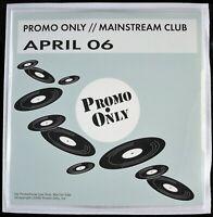 "PROMO ONLY ""MAINSTREAM CLUB APRIL 2006"" DJ PROMO 2X CD COMPILATION 20 TRKS *NEW*"