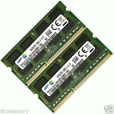 16GB (2x8GB) DDR3 1600 Mhz PC3 12800 Computadora Portátil SODIMM Memoria RAM 12800s 204 Pin