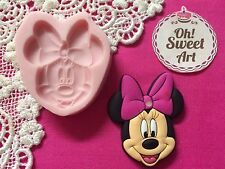 Minnie Mouse Silicone Mold toppers Food Safe  Decoration toppers Cupcake (FDA)