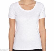 Short Sleeve Solid Basic Tees for Women