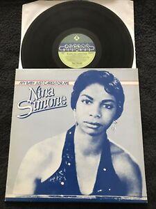 Nina Simone - My Baby Just Cares For Me (Greatest Hits) Vinyl LP (1982) EX/EX