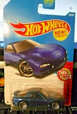 2017 Hot Wheels  Then and Now 3/10 '95 MAZDA RX-7 BLUE 337/365 4/10   [KP5]