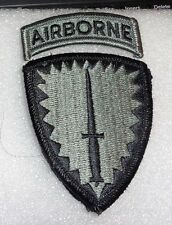 ARMY PATCH SSI, SPECIAL OPERATIONS COMMAND EUROPE ,ACU,WITH HOOK LOOP FASTENER