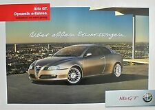 Alfa Romeo GT 2006 Manifesto Large Original Dealer Poster 100 x 70cm Only One