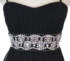 B Darlin $140 Black Evening Prom Formal Cocktail Junior Long Cruise Dress size 3